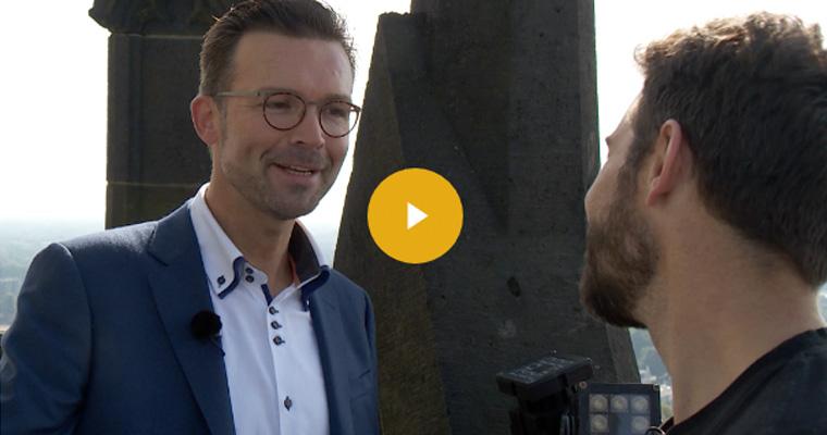 TV interview met Matthijs van der Waarde